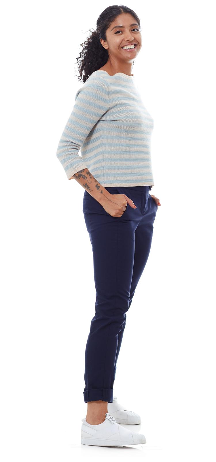 Chino Catsfield blau