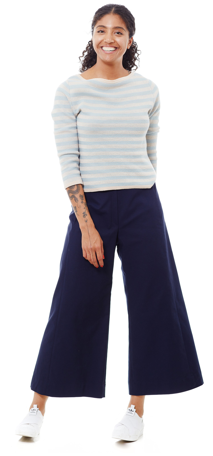 Culotte Catsfield blau